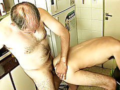 Turned on by the touch, the twink starts eating the guy's firm mine-shaft and the Goliath tool ends up in the boy's posterior free hardcore