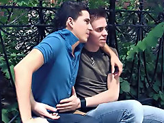 Our man Sam found this cunning twink couple snapping some pics so he invited them back to his place to take some more colleague shots gay amateur asia