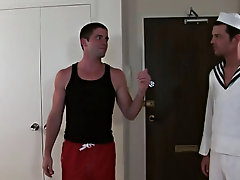 Johnny had this first-timer GOING GAY starting out with a slushy blowjob and then dropping his anchor and getting down to some serious ass thumping ho