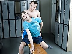 This is an excellent some scene in a locker room and it's wholly unexpected first time gay story virgin at Teach Twinks