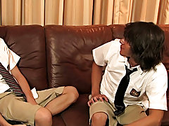 Dillon Samuels is in detention with Kyros Christian gay first big cock