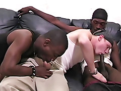 We got him back to the pad easy enough, but he took some convincing to give our black licorice a taste interracial gay sex links