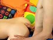 He shields his face from Chris' cumshot with a lollipop, merely to engulf the fluids from the hard candy thin twink gay porn