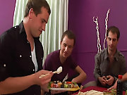 Gay group sex galleries and married men masturbation groups at Crazy Party Boys