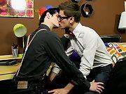 cute gay boys blowjob download and ball shackle lock...
