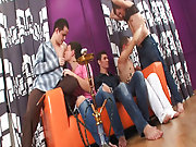 Teen jerking gay men group and gay men group sex at...