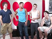 Fat clean shaven gay chub blowjob and straight nude males pissing