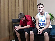 Kneeling next to Colin, Jimmy jerked himself off, cum dribbling over Colin's chest and down his side hardcore gay midiget porn
