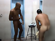 Hard and hung Latin studs meet up in the locker room...