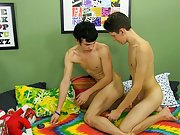 Long and thick pubic hair twinks tube and twink lads...
