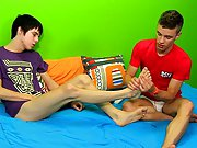 They end the scene with more hot oral (don't miss Kyler's big, spurting cumshot gay bear on twink at Boy Crush!