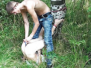 My friends brushed ass gay outdoor oral sex