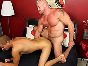 Gay male mutual cock and ball play videos and old...