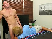 Gay guys balls slap into each other and fat men...