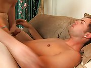 Hypnotized stripper gay male and male cumming from anal penetration at My Husband Is Gay