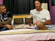 Gay in cutoff shorts and first anal gay rough at My Husband Is Gay