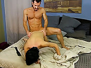 Naked boys fucked by old men and big black dick rough blow job at Bang Me Sugar Daddy