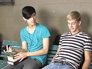 Homo emo gay twink and biting twinks dicks at Teach...