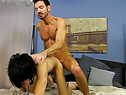 When Bryan Slater has a stressful day at work, this chab comes home and takes it out on his little slave boy, Kyler Moss free guy on guy hardcore sex