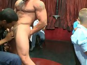 Group fuck gay and men group sex at Sausage Party