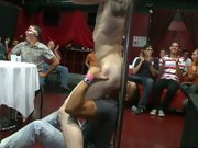 Hot gay guys group sex and gay group sex mykonos at Sausage Party