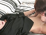 Men cumming in each others moth and black ass in...