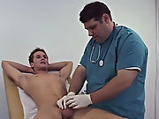 Dr. Dick started with taking down my age, 23, my weight, 160 pounds, and that I like to work out gay twinks wanking