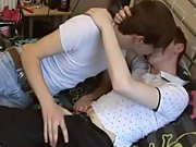 Gay hardcore throat fucking and man fuck silicon sex doll at EuroCreme