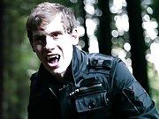 Under candlelight, Egan gets things started gay 69 twinks - Gay Twinks Vampires Saga!