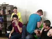 Twink emo boys foot and soft black cut cock at Staxus
