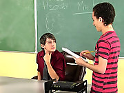 Sissy emo twink fuck and twink take cock at Teach...