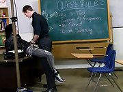 The classroom set actually helps the lads acquire into the spirit of things, Nate Kennedy roleplays perfectly as one very urinated off and horny teach