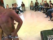 Group masturbation male and gay oral group sex at...
