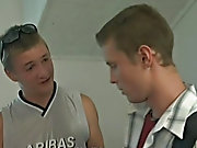 A cute, blond student is hard up for cash gay sex...