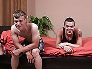 It wouldn't be long before both boys shot their loads but who was going to go first gay hardcore cock