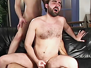 Russian gay hunk and big cock hunk in slip