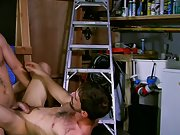 Gay in nylon short shorts and first time gay play wife watches at My Gay Boss