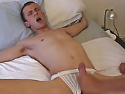 He didn't seem to mind that I was touching and rubbing his ass, in fact, his cock was already hard and shoving its way out of his underwear gay t