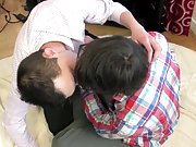 Young teen boy dick to dick hump and tiny twinks sex...