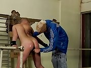 Hollow ass with hungry gay cock and young ebony gay...
