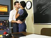 """ Getting down on his knees to suck the teacher's cock seems to be the answer free male twink porn at Teach Twinks"