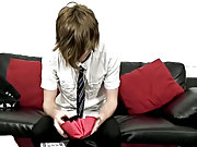 Tyler is one hot emo and he looks even more young in his shirt and tie free gay cowboy video at Homo EMO!