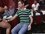 Guys naked in groups and twink fem boys in panties...