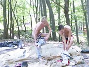 Hot young long haired skater boys getting blowjobs and anal creampie gif gay twink at Staxus