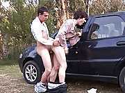 Erick and Julian make it first time outdoor male...