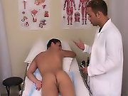 He rubbed some lubricate on my butt pri and then with some gloves on he inserted the thermometer in my ass with my legs up in the air gay men first bi