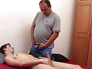 This lucky boy awakened from the slumber brought about by his adult masseur only when his well was balls deep in the man's mouth hunky males nake