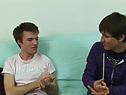 With the futon opened up, Price got down on his knees and leant over a pillow while Daniel knelt behind him hardcore teen gay sex