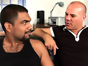 His first huge cock interracial gay chat