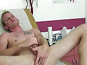 So I laid down on the exam table still warm from the intense blowjob session I gave Coach Maddox only moments before men masturbating caught o